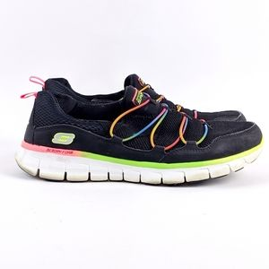 Sketchers | Memory Foam Rainbow Running Shoe-N6